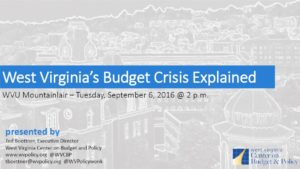 WV Budget Crisis Explained cover