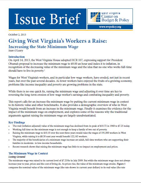 minimum wage cover