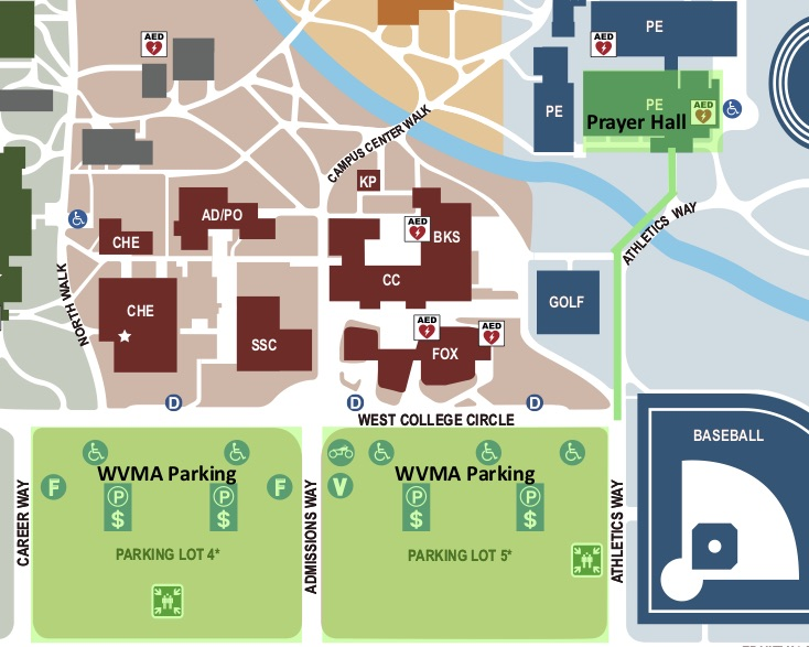 west valley campus map Eid Al Adha Wvma west valley campus map
