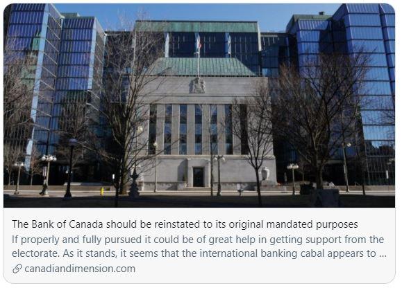 Bank of Canada Purpose