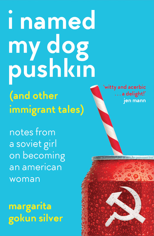 Book cover image with and image of a soda can with a soviet hammer and sickle replacing the soda brand and the text \