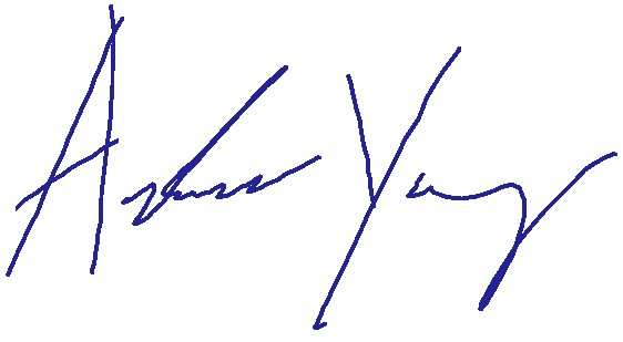 Andrew Yang Signature