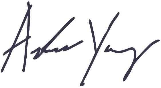 Andrew Yang's Signature