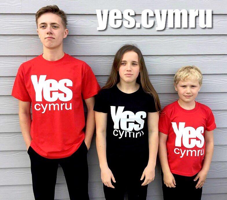 YesCymru T-shirts