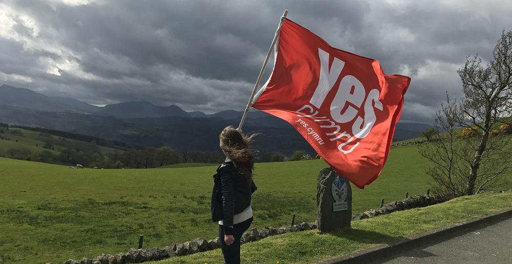 YesCymru Flag