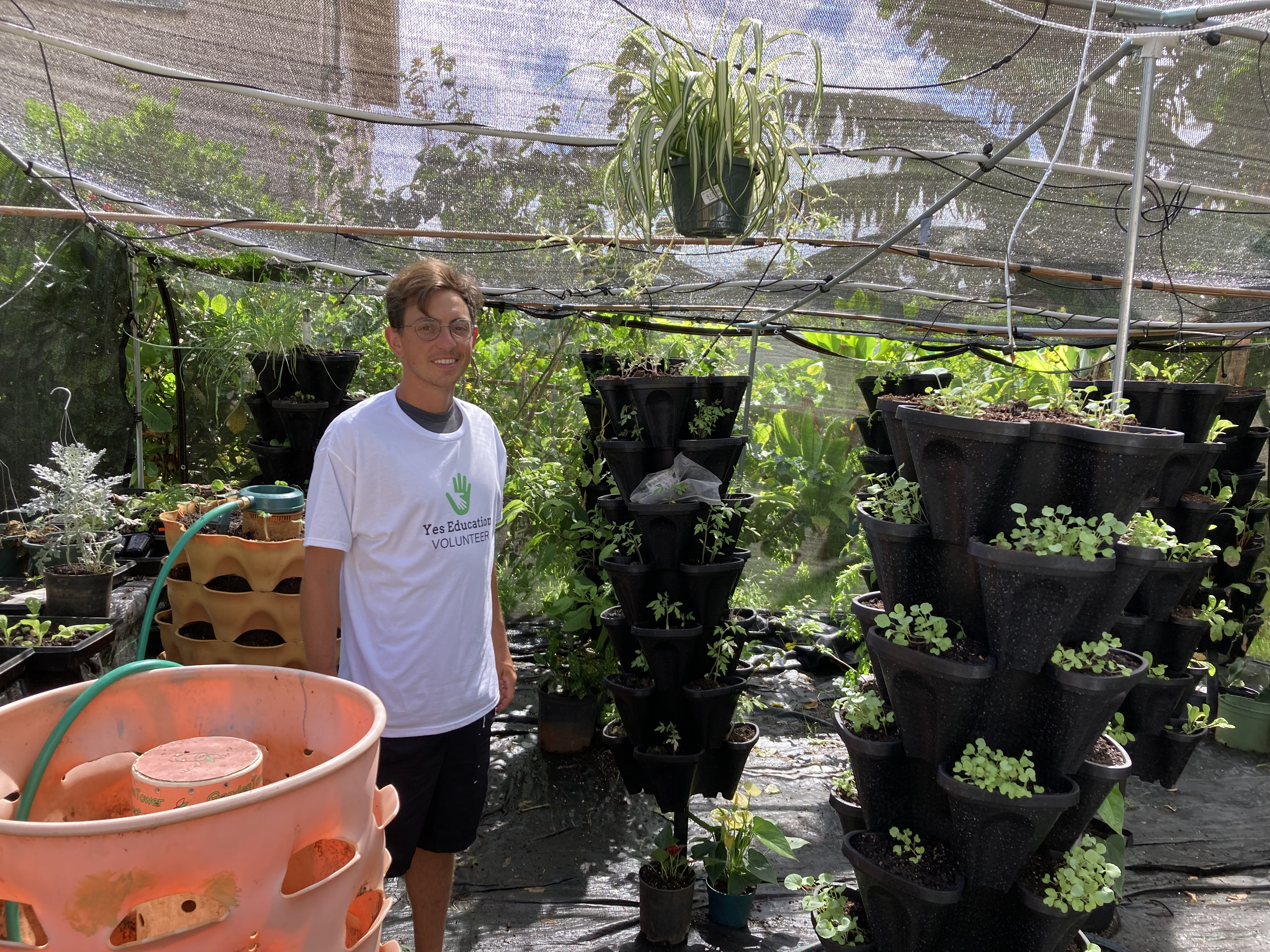 Update on our Food Security Greenhouse Project