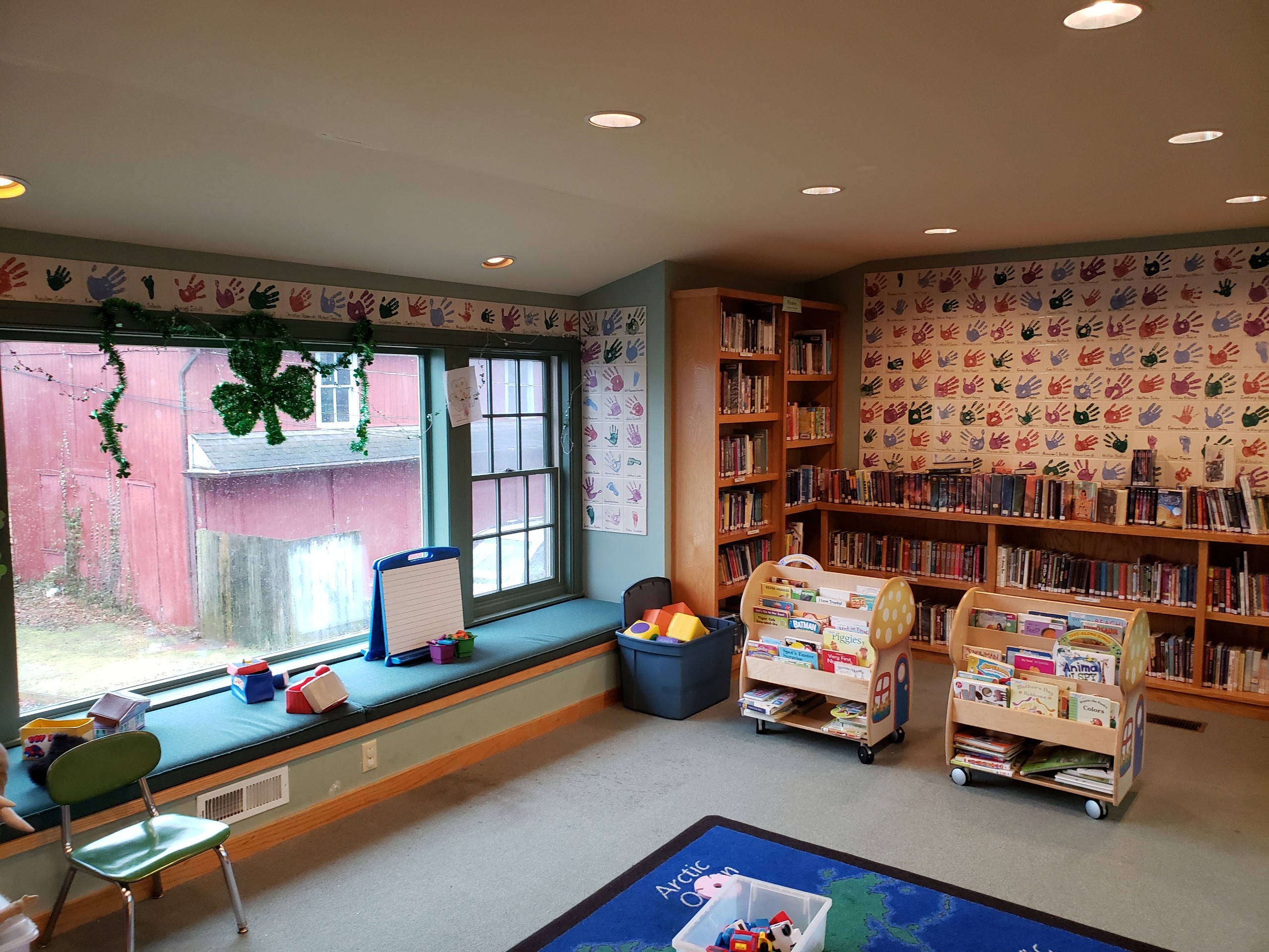 Union Library Children's Reading Area
