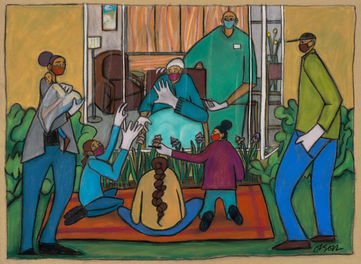 #26; Pastel by Carolyn Olson  http://carolynolson.net
