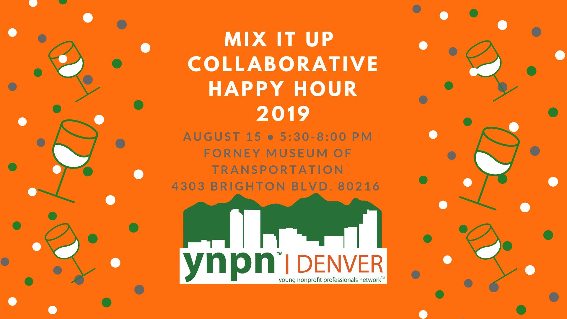 Excellent 2019 Mix It Up Collaborative Happy Hour Ynpn Denver Home Interior And Landscaping Eliaenasavecom