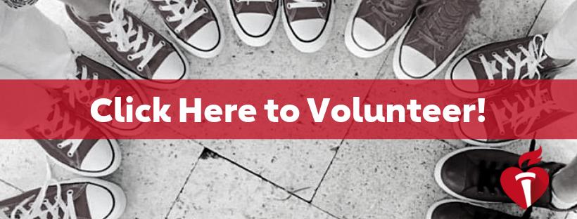 Click here to volunteer!