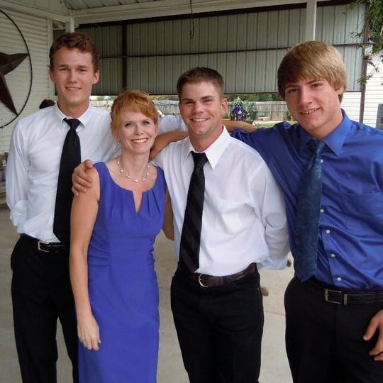 Photo of Corrie Kielty and her children