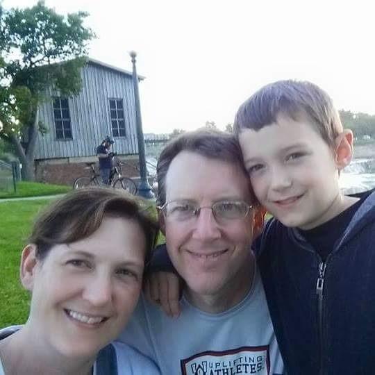 Photo of Dayna Krannawittert and family