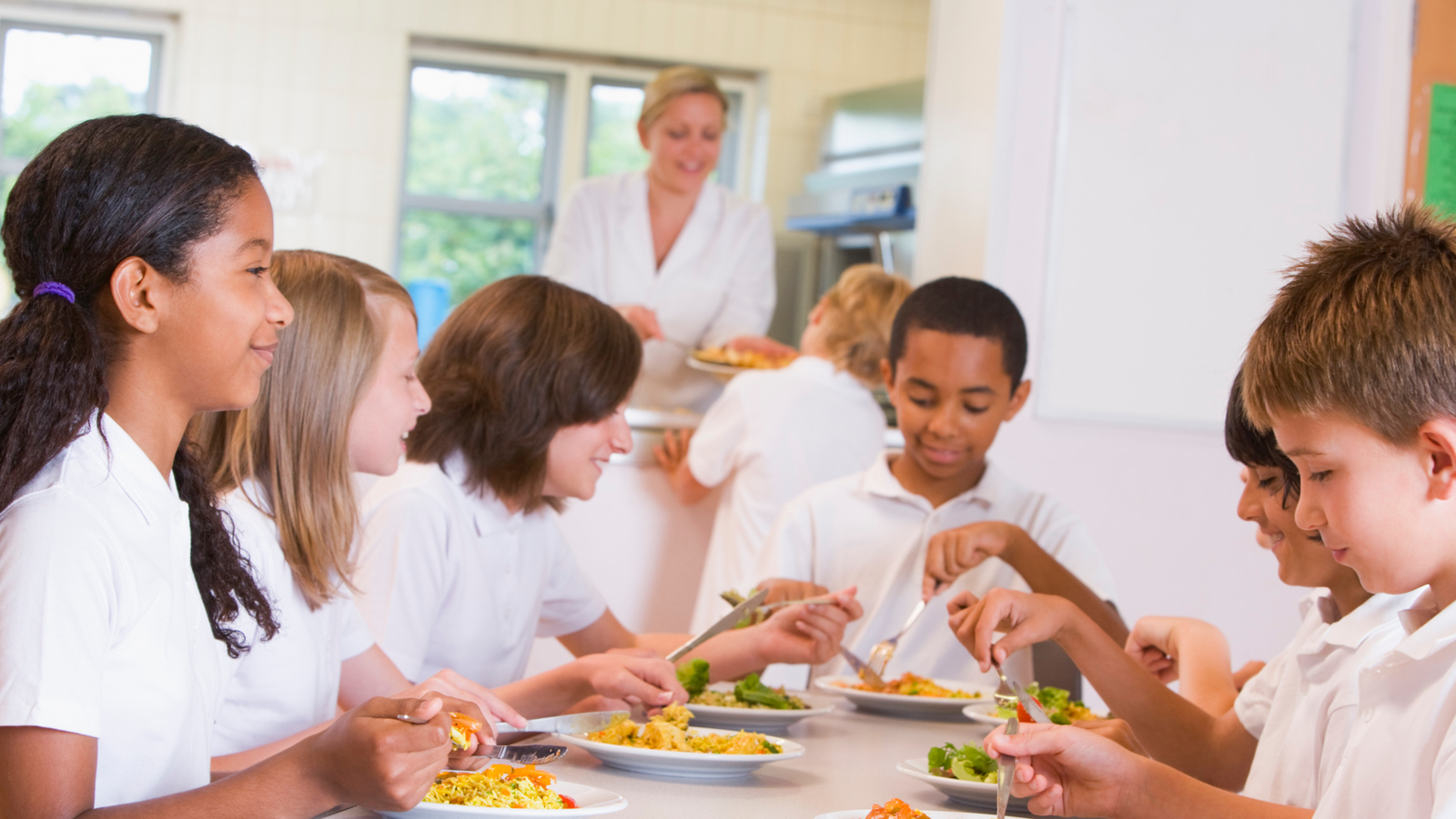 Step Up to the Plate for School Meals