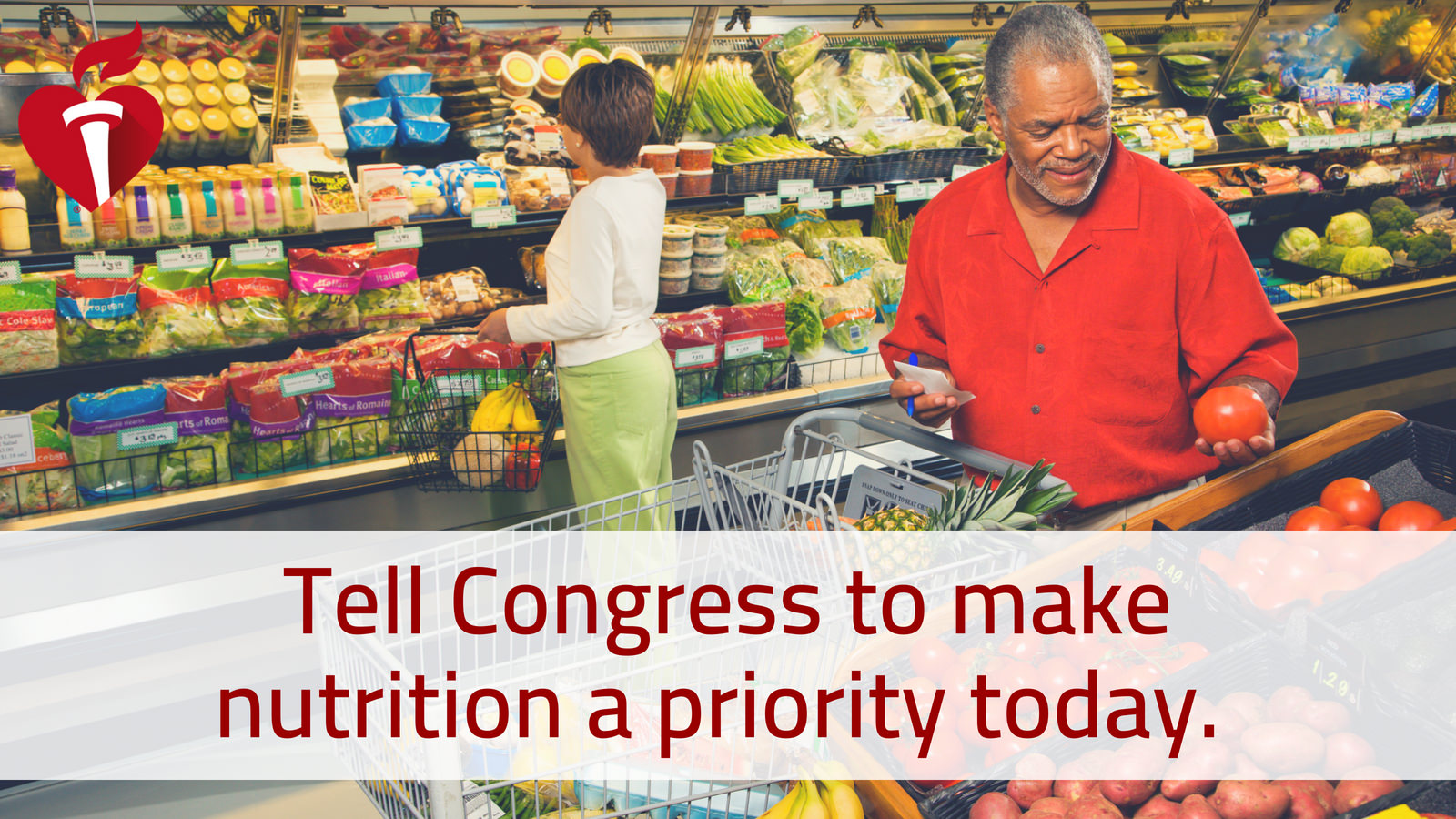 Congress: Prioritize nutrition programs