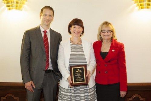 Picture of Legislators receiving award