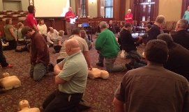 Picture of CPR training