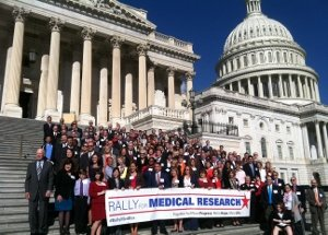 Picture of advocates at Capitol Hill