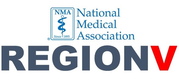 National Medical Association Region Five logo