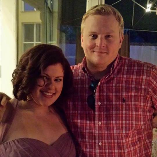 Amanda Cox with Matt