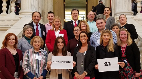 AHA Rhode Island Advocates for Tobacco 21