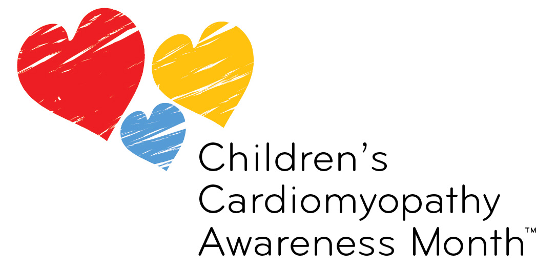 Children's Cardiomyopathy Awareness Month Logo