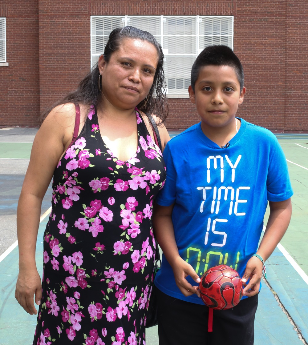 Rafaela and Fernando, Queens residents