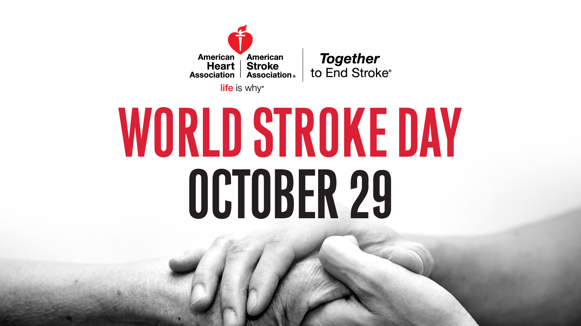 World Stroke Day - 29 October