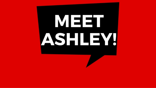Photo that says Meet Ashley