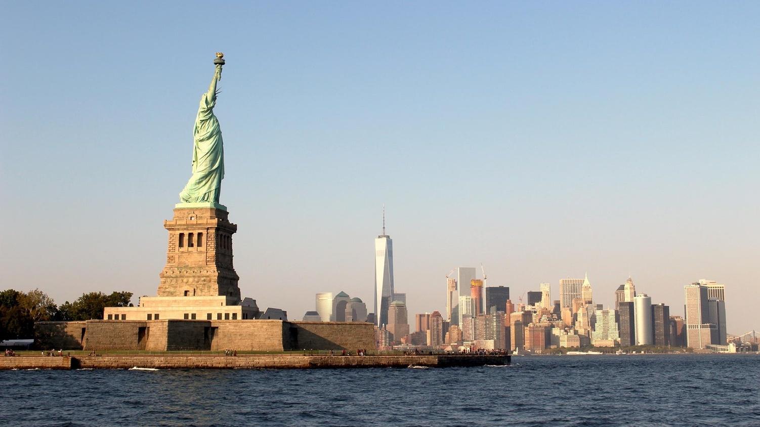 Statue of Liberty & NYC skyline
