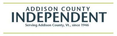 Addison County Independent logo