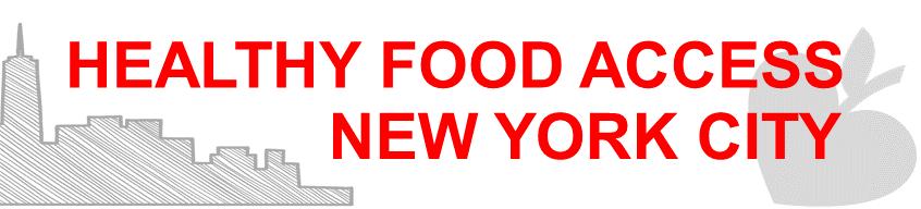 Healthy Food New York City header