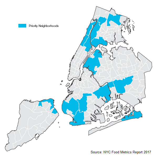 Food Policy Priority Neighborhoods