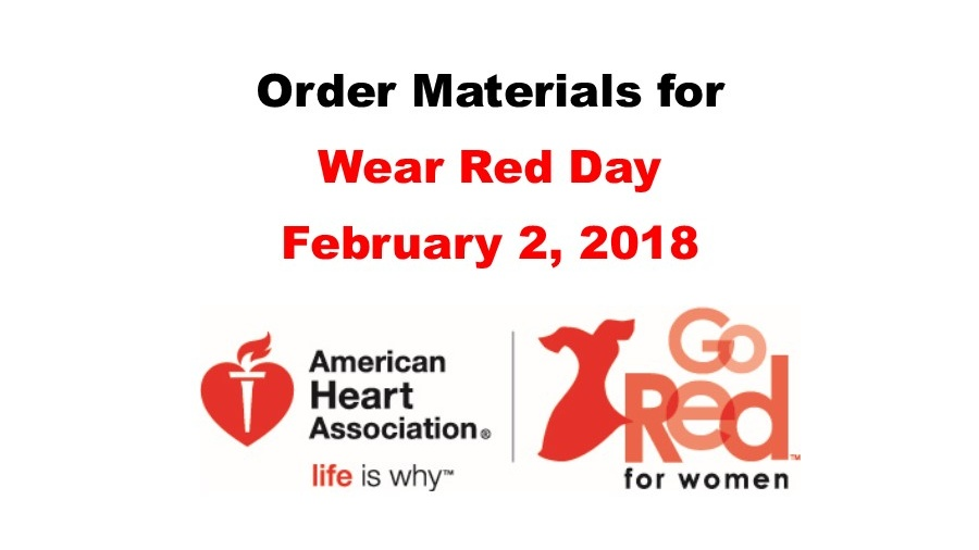 Wear Red Materials