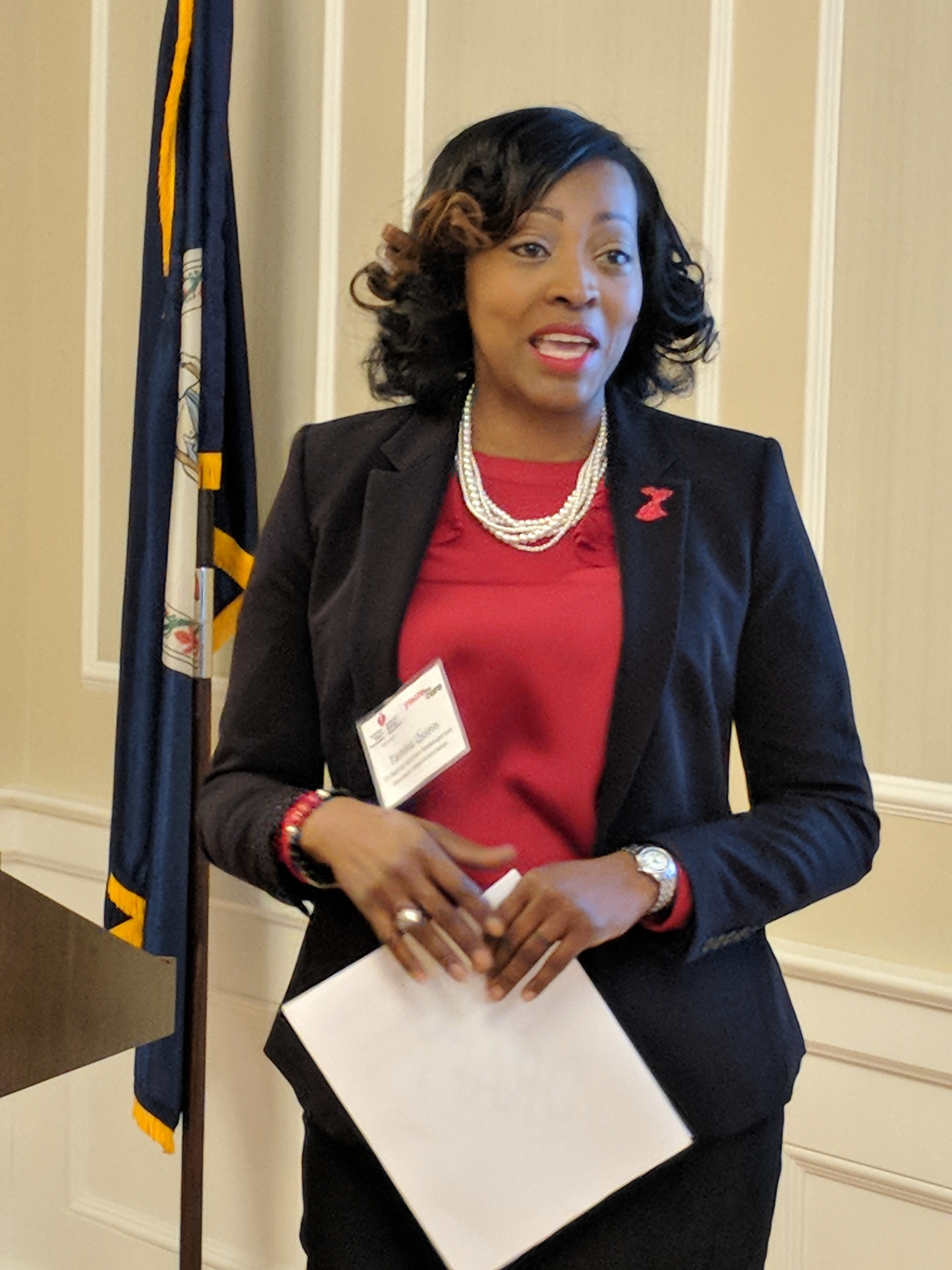 Tamika Quinn, Go Red for Women Spokesperson, shares her story as a stroke survivor.
