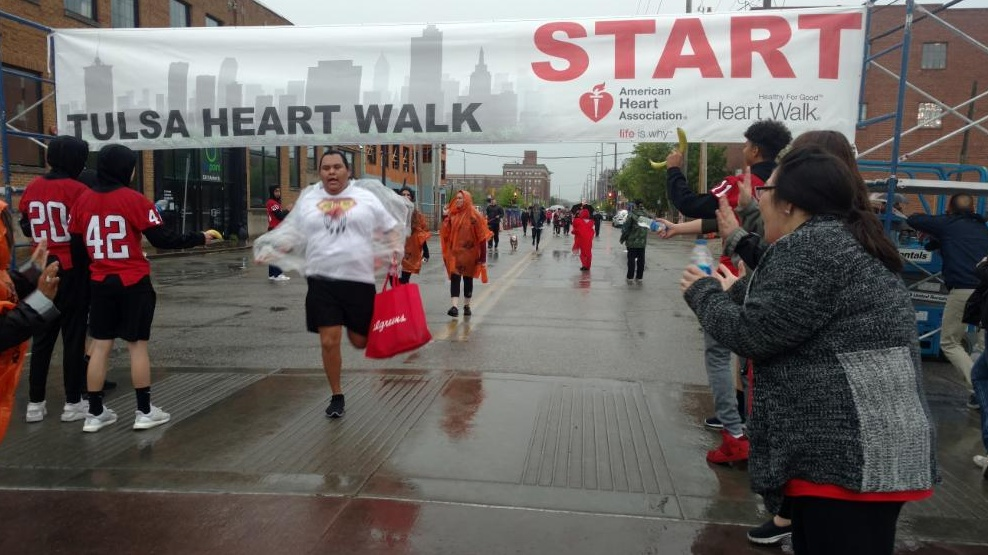Heart Walk Picture