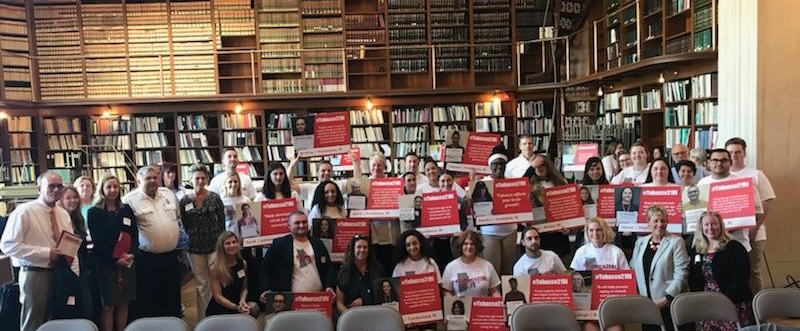 Participants at Tobacco 21 Advocacy Day