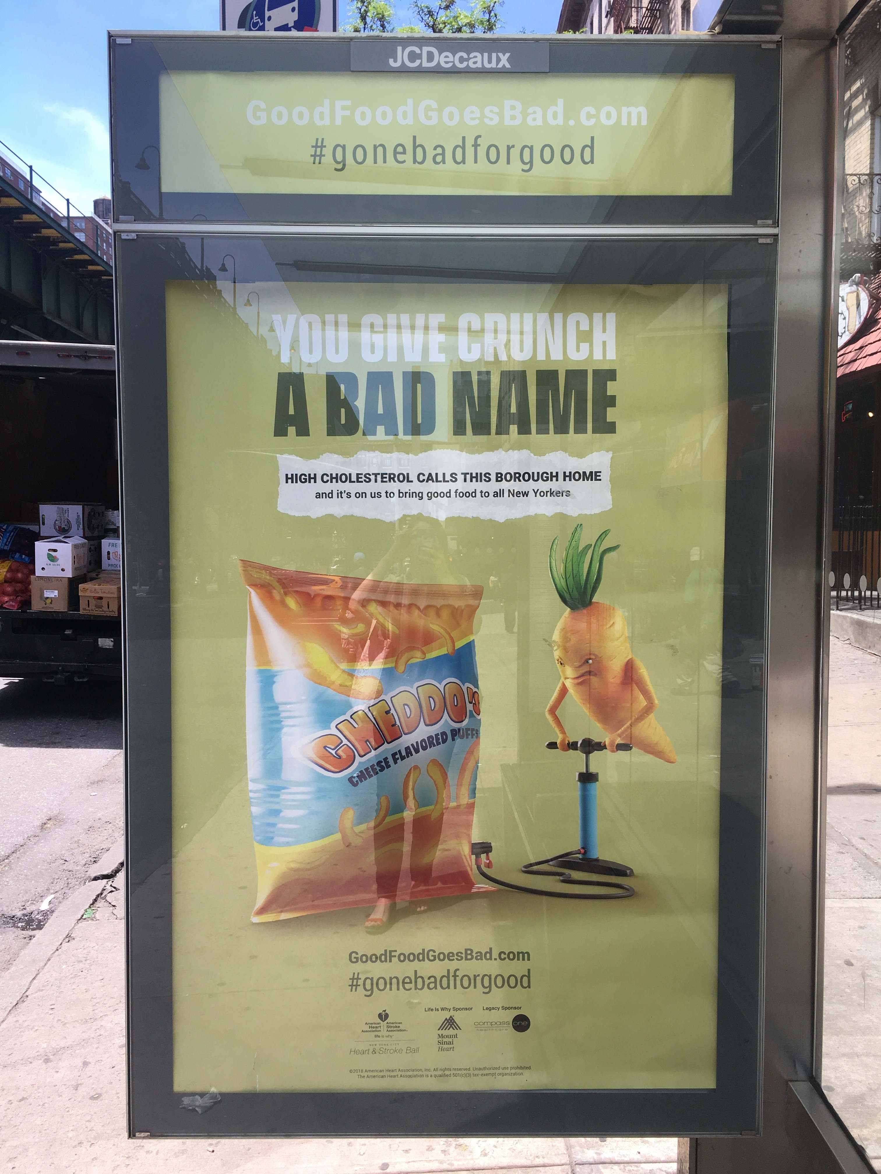 Good Food Goes Bad advertisement