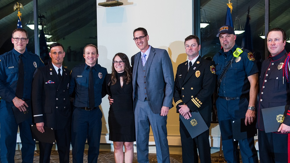 Castle Rock Fire and Rescue Department's recognition