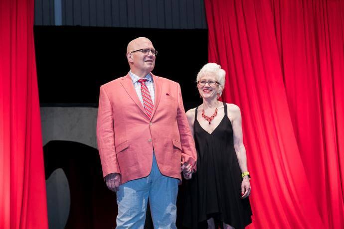 Jeff Backus and wife
