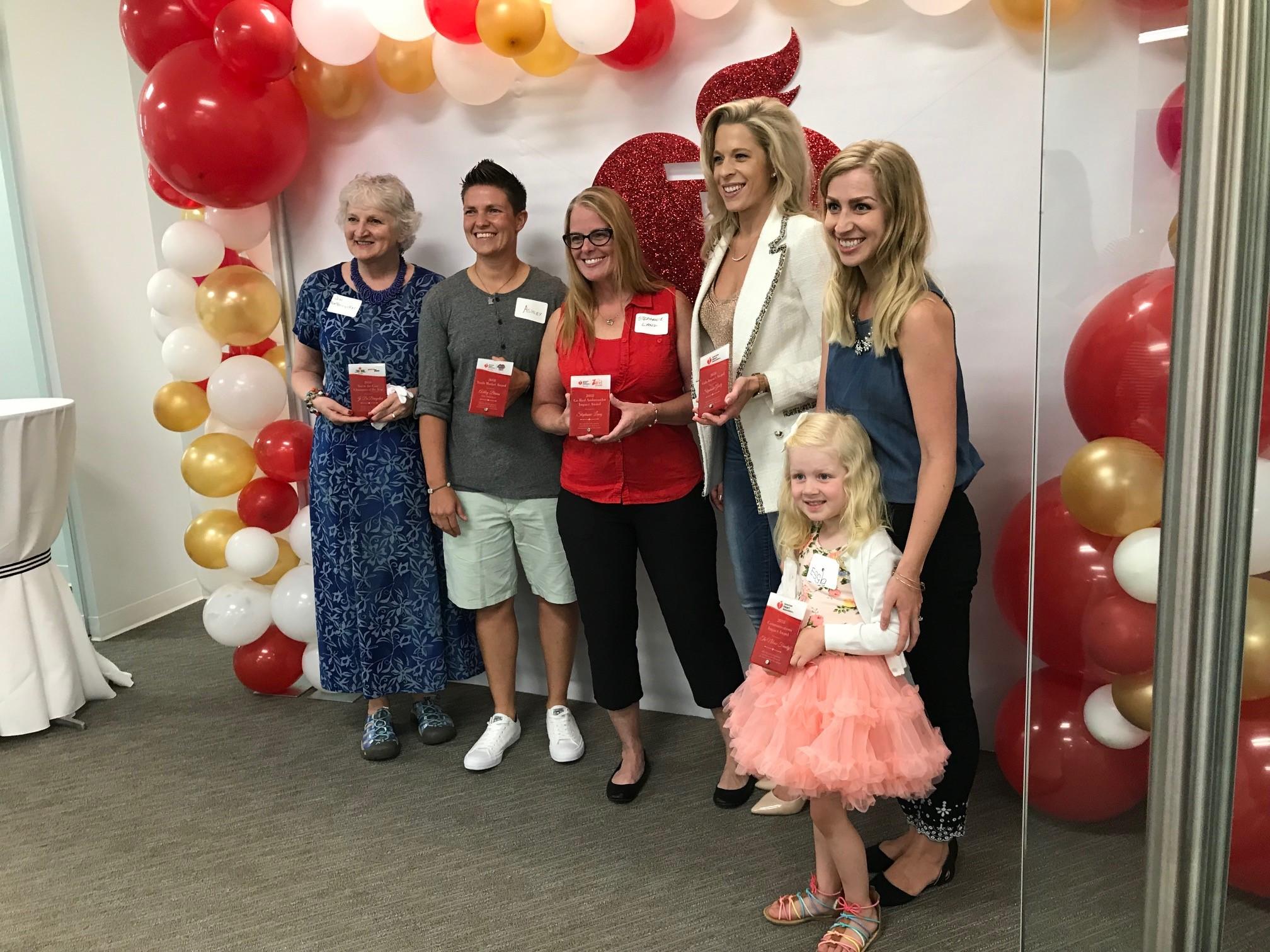 Jo with Award Winners