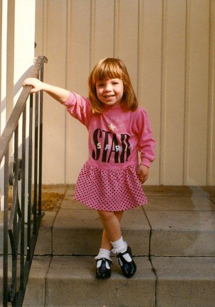 Tara at age 2