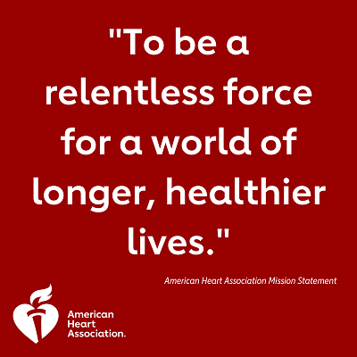 To be a relentless force for a world of longer, healthier lives.