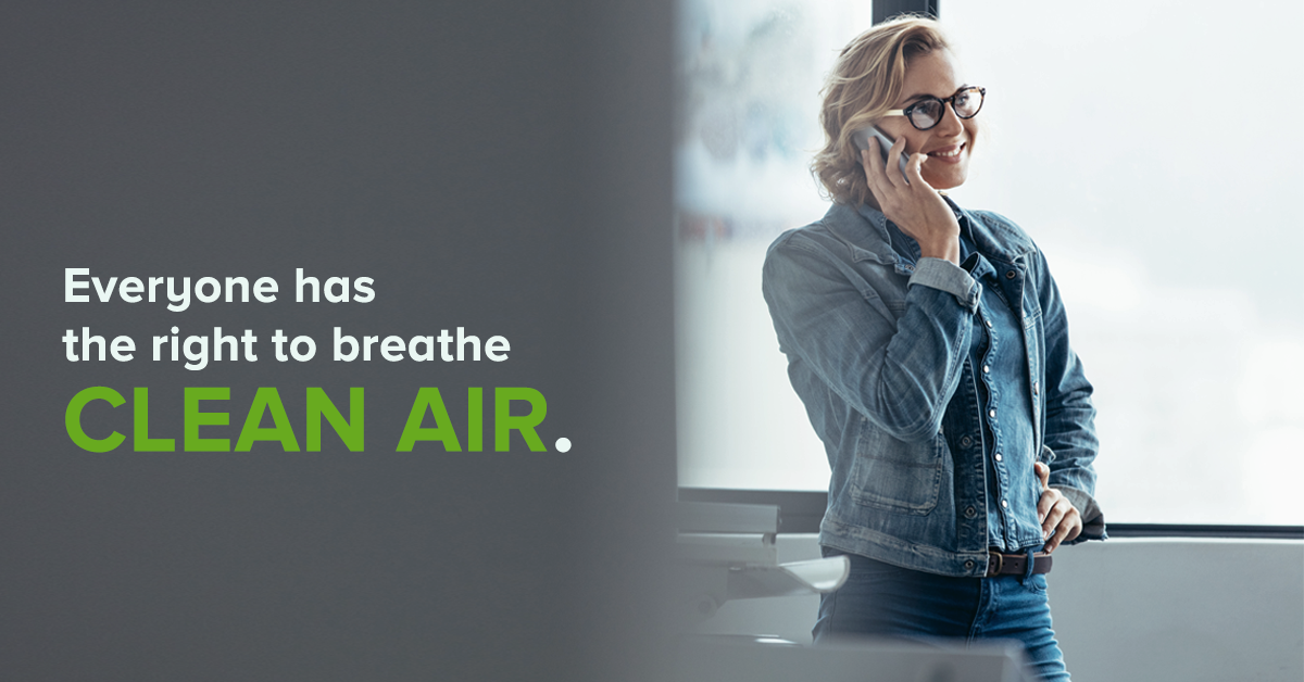 Everyone has the right to breathe clear air.