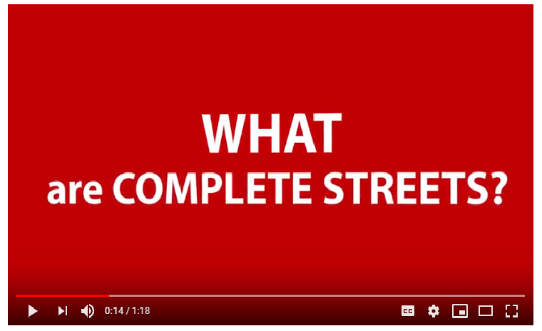 What are Complete Streets picture