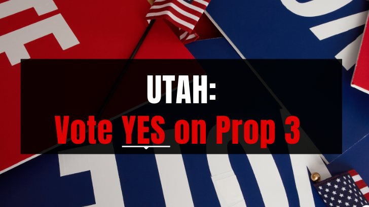 Vote yes on Prop 3