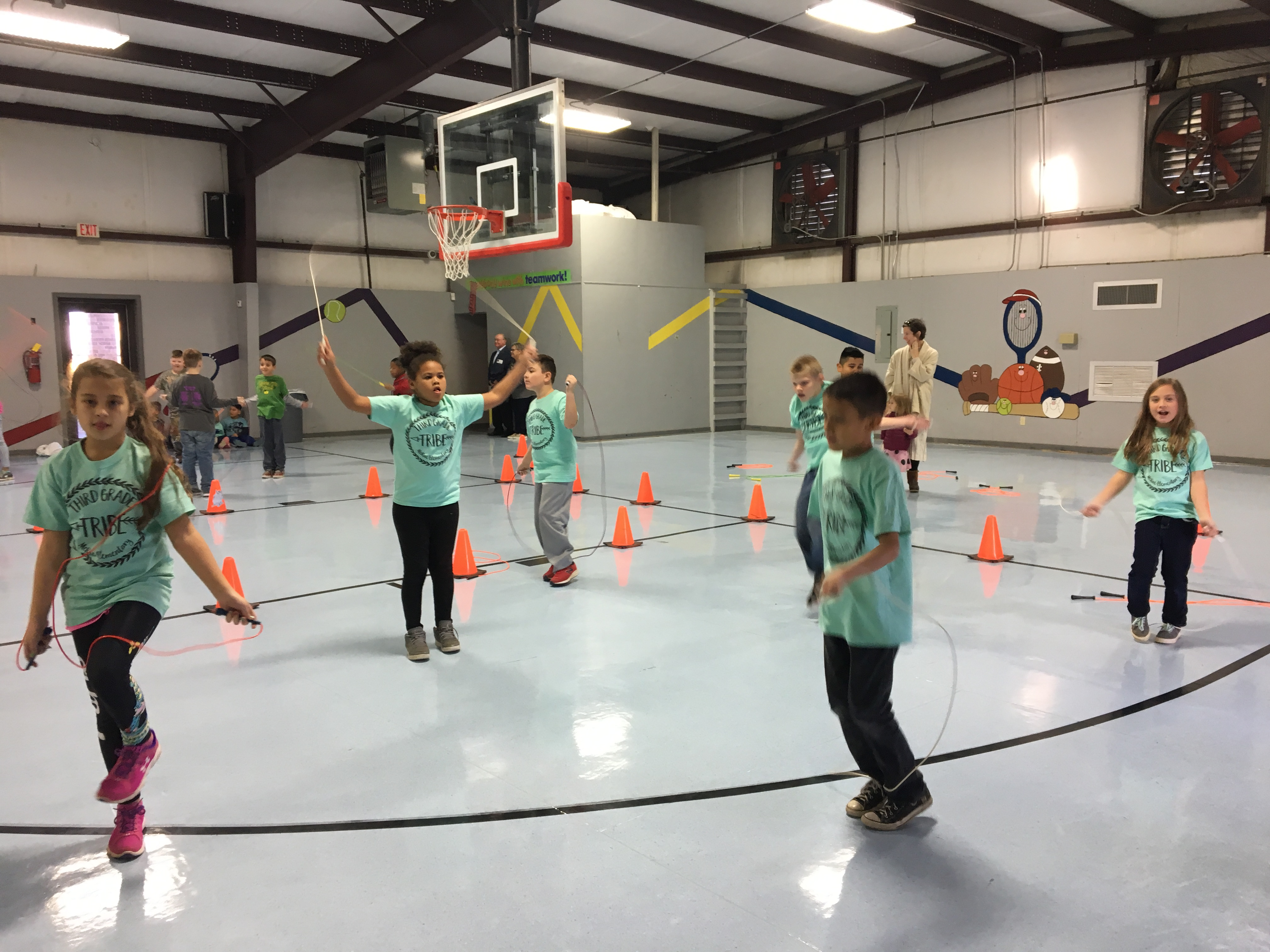 Picture of children jumping rope