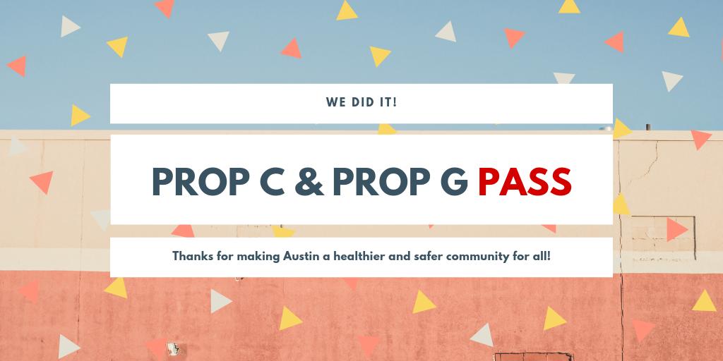 Prop C & Prog G Pass
