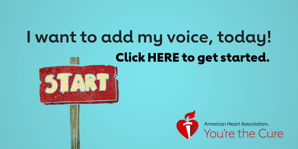 I want to add my voice, today! Click here to get started.