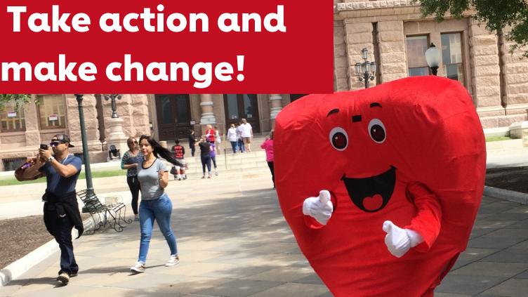 taking action = making change