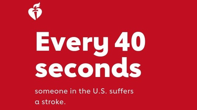 Every 40 seconds someone in the U.S. suffers a stroke